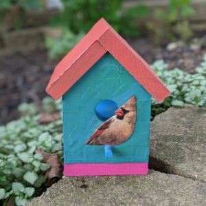 Birdhouse Project by Claire Fisher