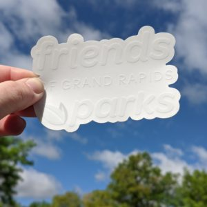 Friends Logo Sticker
