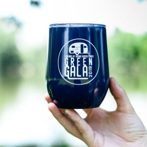 Green Gala Insulated Wine Cup