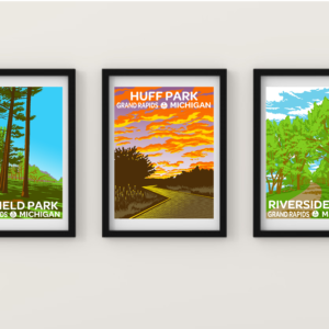 BUNDLE: Limited Edition Parks Posters