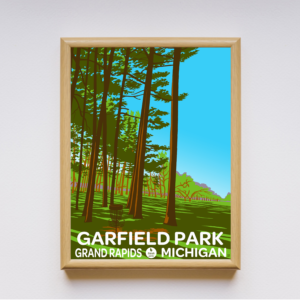 Single Limited Edition Parks Poster