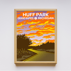 Huff Park Poster