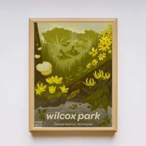 Wilcox Park Poster